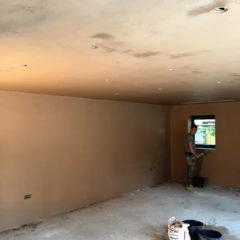 Internal Finish Plastering Project from west london plasterer Hampton Hill Plasterers