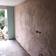 Backing coat plaster (Floating)