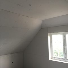 Plasterboarding (Boarding/re-boarding, ceilings/walls)